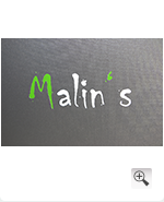 Logo Veredelung Malin's in 2c