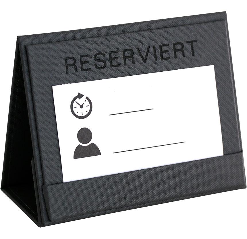 Reserviert Schilder für die Gastronomie & Hotellerie
