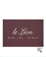 Le Lion - Bar de Paris 4