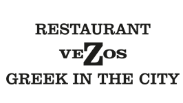 "Logo Restaurant ""VEZOS"" Greek in the City"